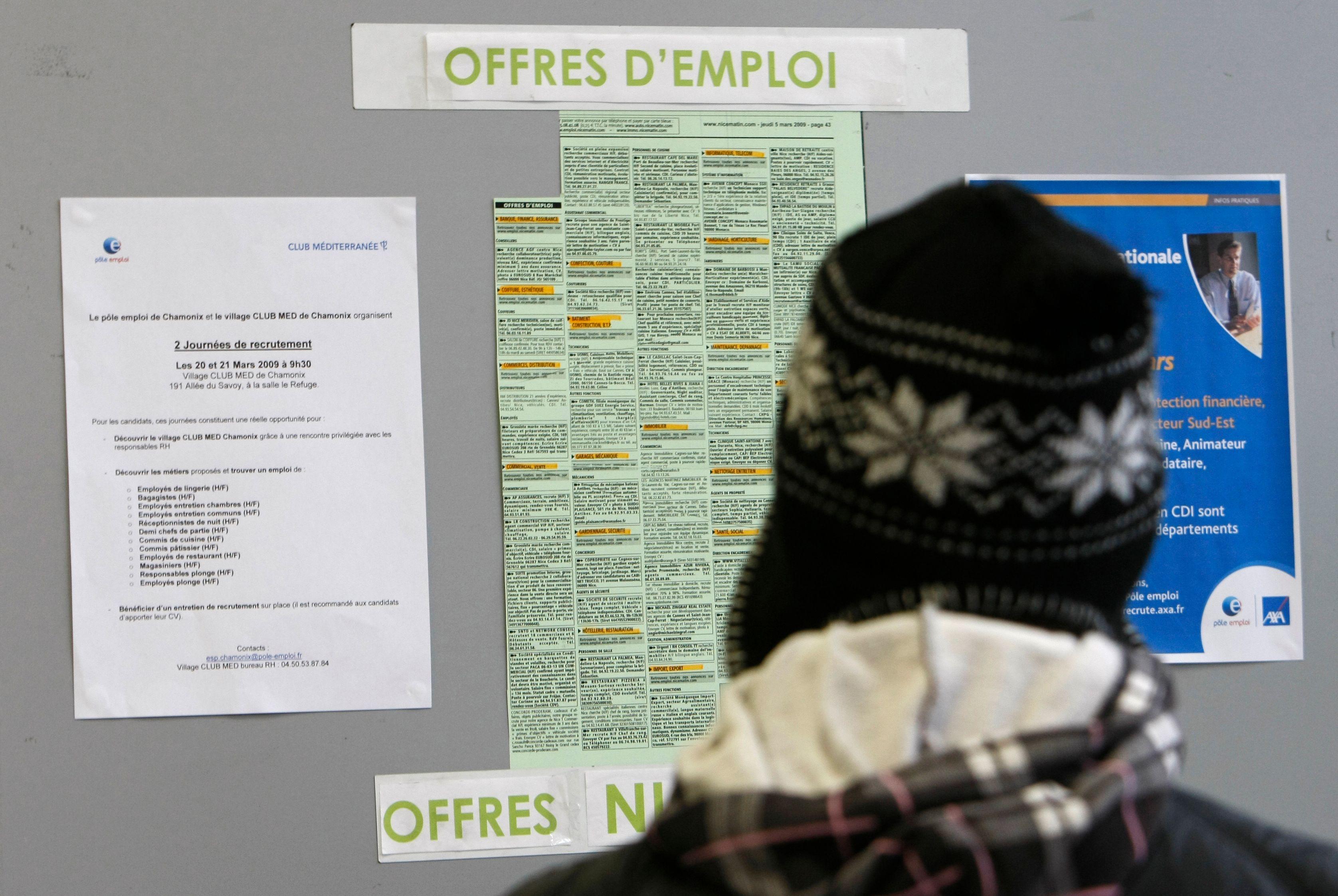 Chômage : nouvelle hausse du nombre de demandeurs d'emplois en juillet