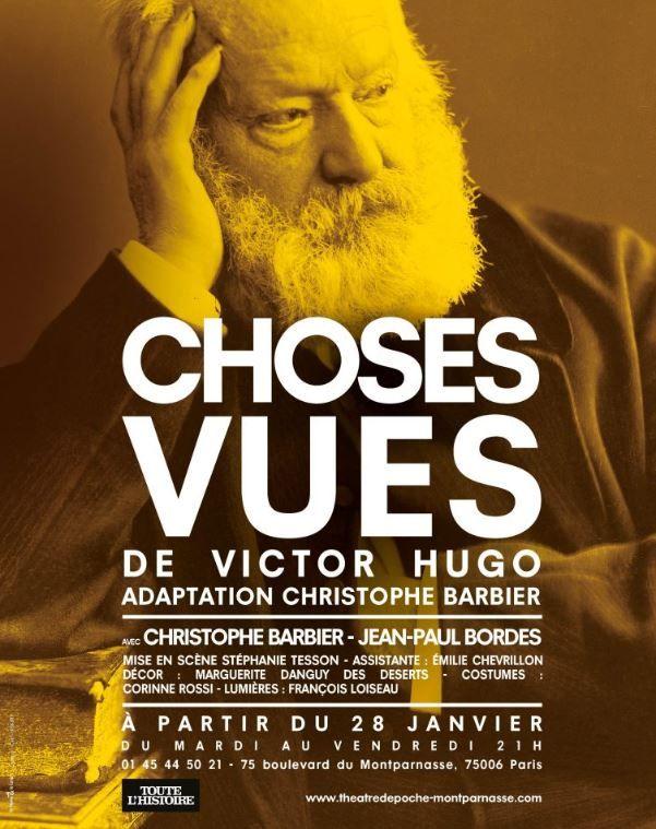 """""""Choses vues"""" d'après Victor Hugo : sous le regard d'un géant"""