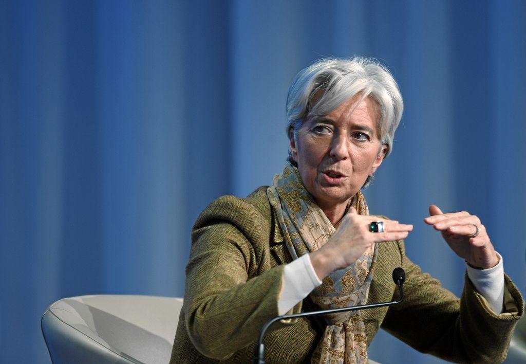 Christine Lagarde souhaite que la zone euro surveille l'inflation