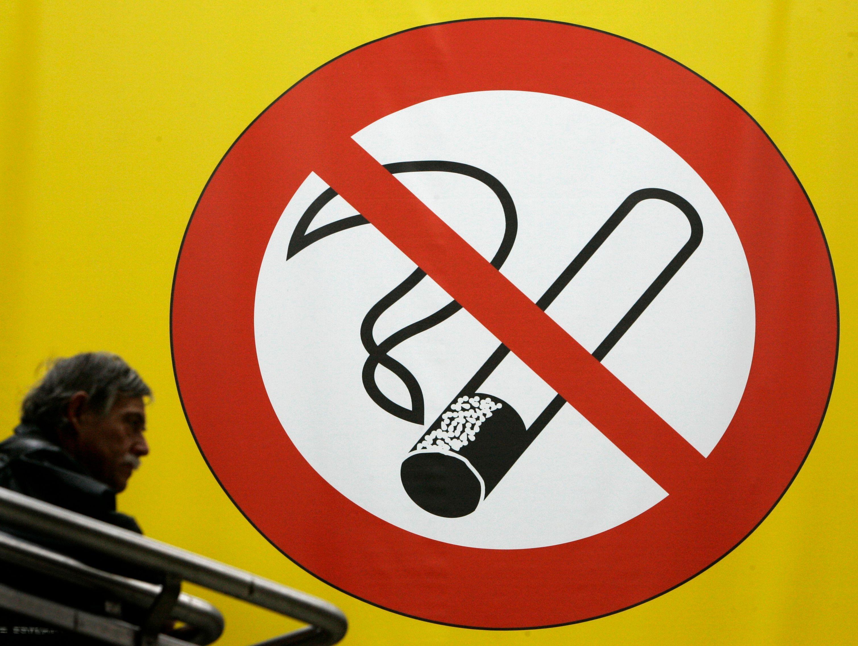 Toutes les mentions anti-tabac sont liées à des mesures européennes.