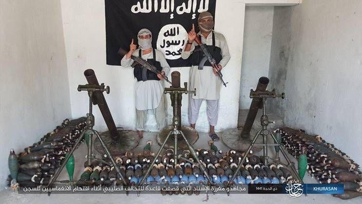 etat islamique daech afghanistan