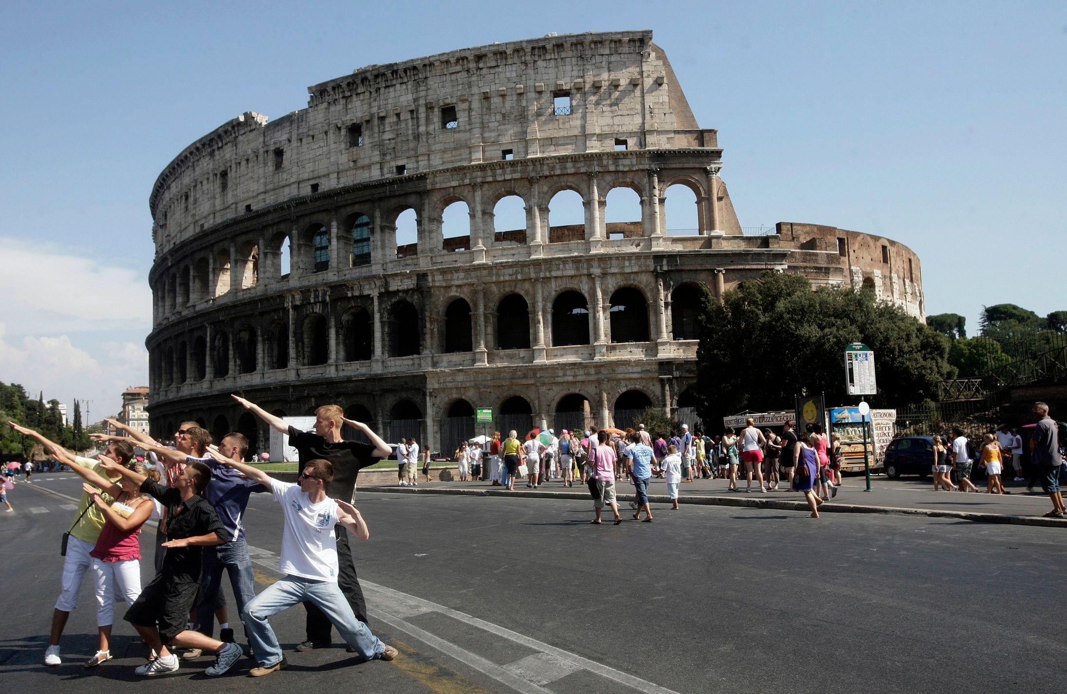 Le Colisée, à Rome.