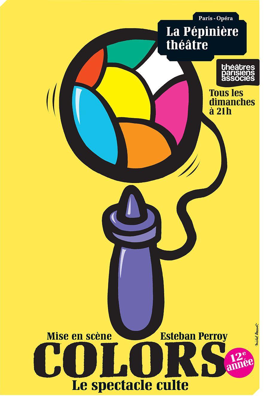 """""""Colors, le spectacle culte"""" d'Esteban Perroy : pour lutter contre la grisaille du dimanche soir"""