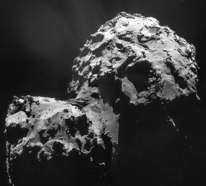 Quatre molécules organiques trouvées sur la comète Tchouri : le créateur de la sonde Philae de la mission nous explique ce qu'elles nous apprennent sur l'apparition de la vie