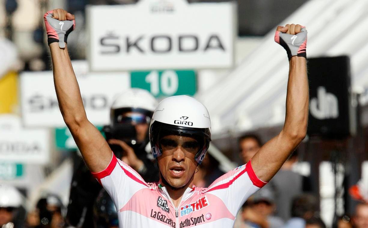 Contador est suspecté de dopage lors du Tour de France 2010...
