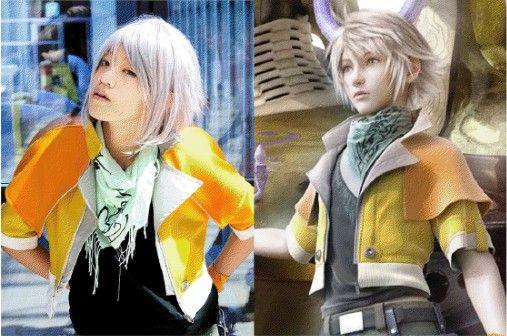 A gauche une cosplayer, à droite l'héroïne à qui elle souhaite ressembler.