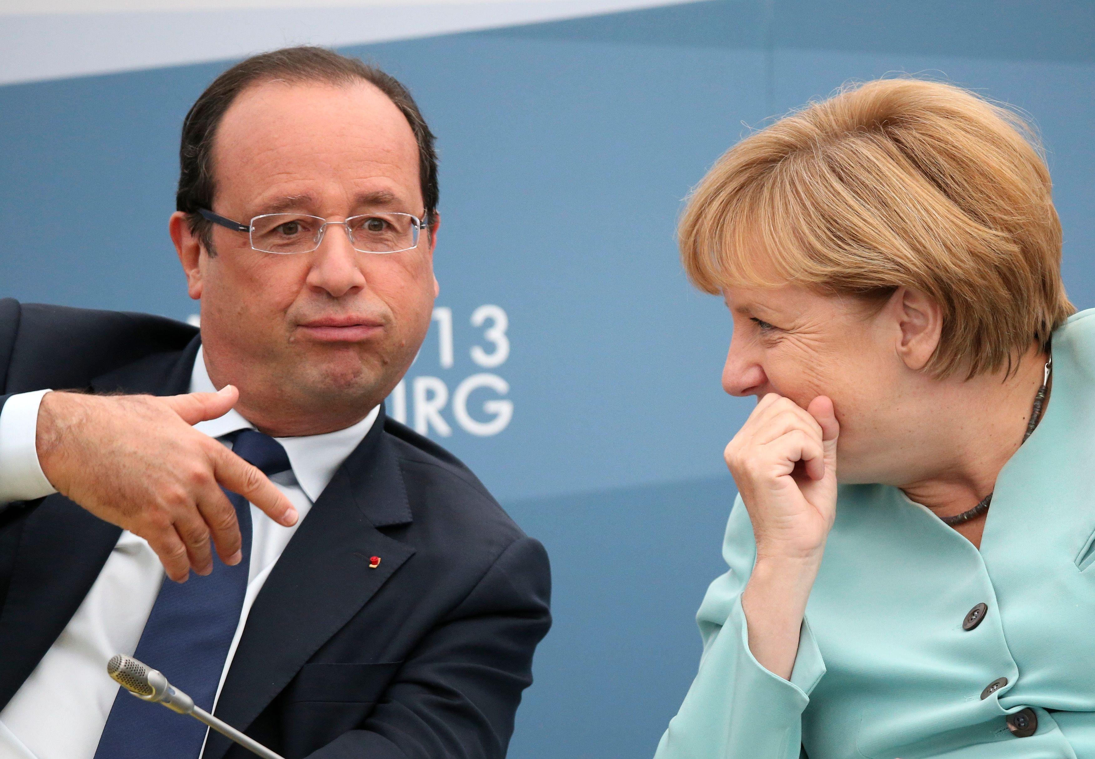 François Hollande et Angela Merkel se retrouvent ces 9 et 10 mai pour une réunion informelle dans le fief électoral de la chancelière, au nord-est de l'Allemagne.