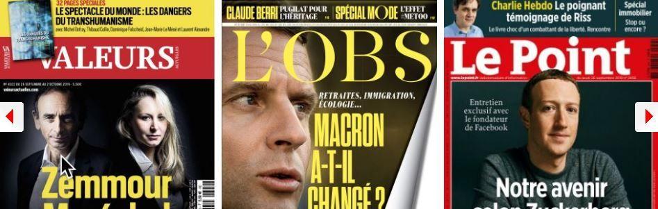 Marion Maréchal fascine les hebdos, Jean-Marie Le Pen l'égratigne ; LR Retailleau affiche ses ambitions ; Mark Zuckerberg montre patte blanche,  Bruno Le Maire n'y croit pas ; Starbucks rembourse la PMA de ses salariés