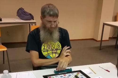 Le Néo-Zélandais Nigel Richards sacré champion du monde du Scrabble francophone (Heathcliff O'malley / Rex / SIPA)