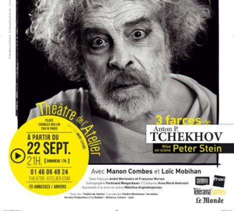 """""""Crise de nerfs. 3 farces de Tchekhov"""" de Anton Tchekhov : Weber super-tsar de la scène"""