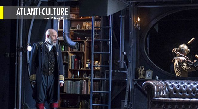 20 000 Lieues sous les Mers. De Jules Verne. Adaptation de Christian Hecq et Valérie Lesort.