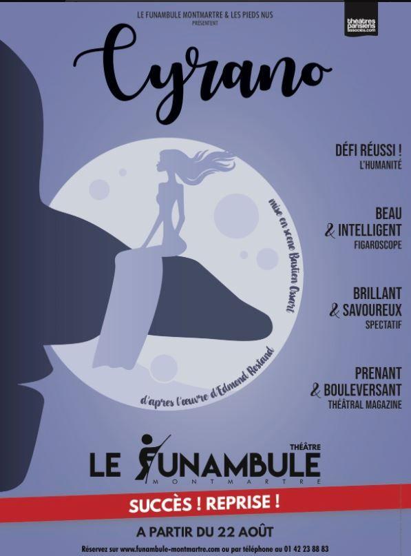 Cyrano Edmond Rostand Funambule Montmartre