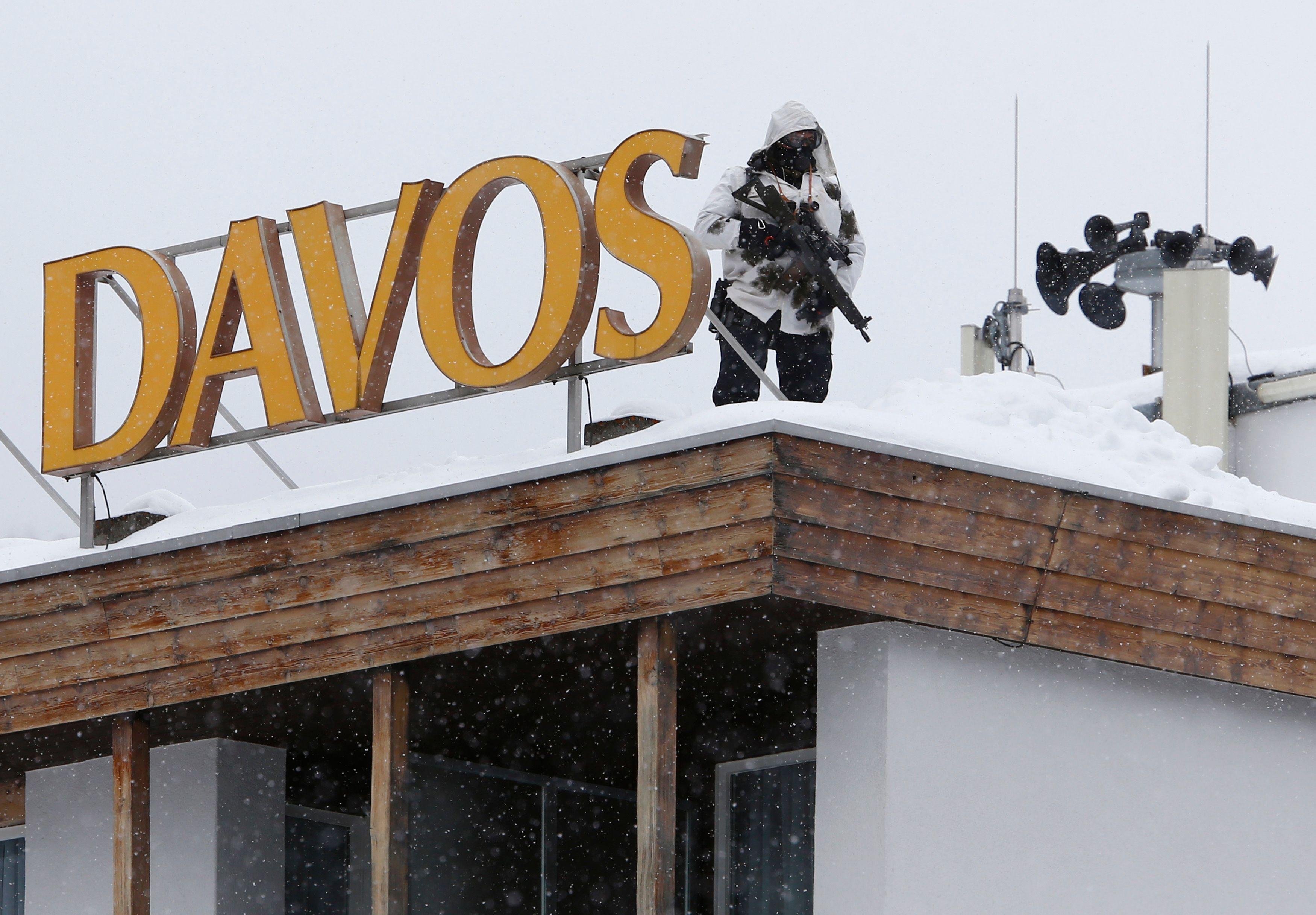 Le Forum économique mondial de Davos débute ce mercredi.