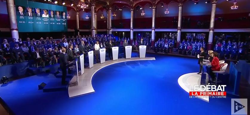 Revivez le deuxième débat de la primaire de la droite et du centre, minute par minute