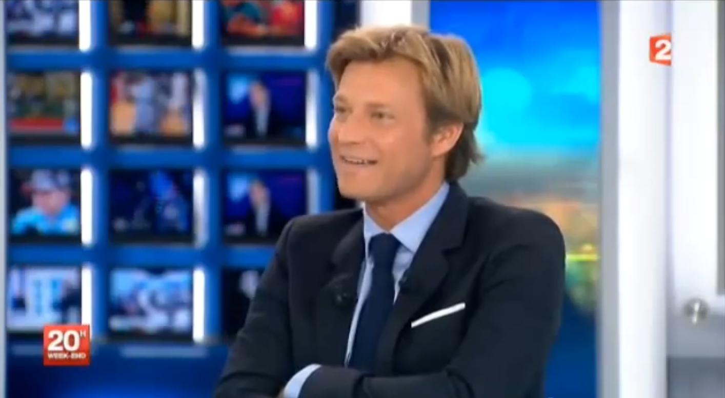 32% des Françaises fantasment sur Laurent Delahousse