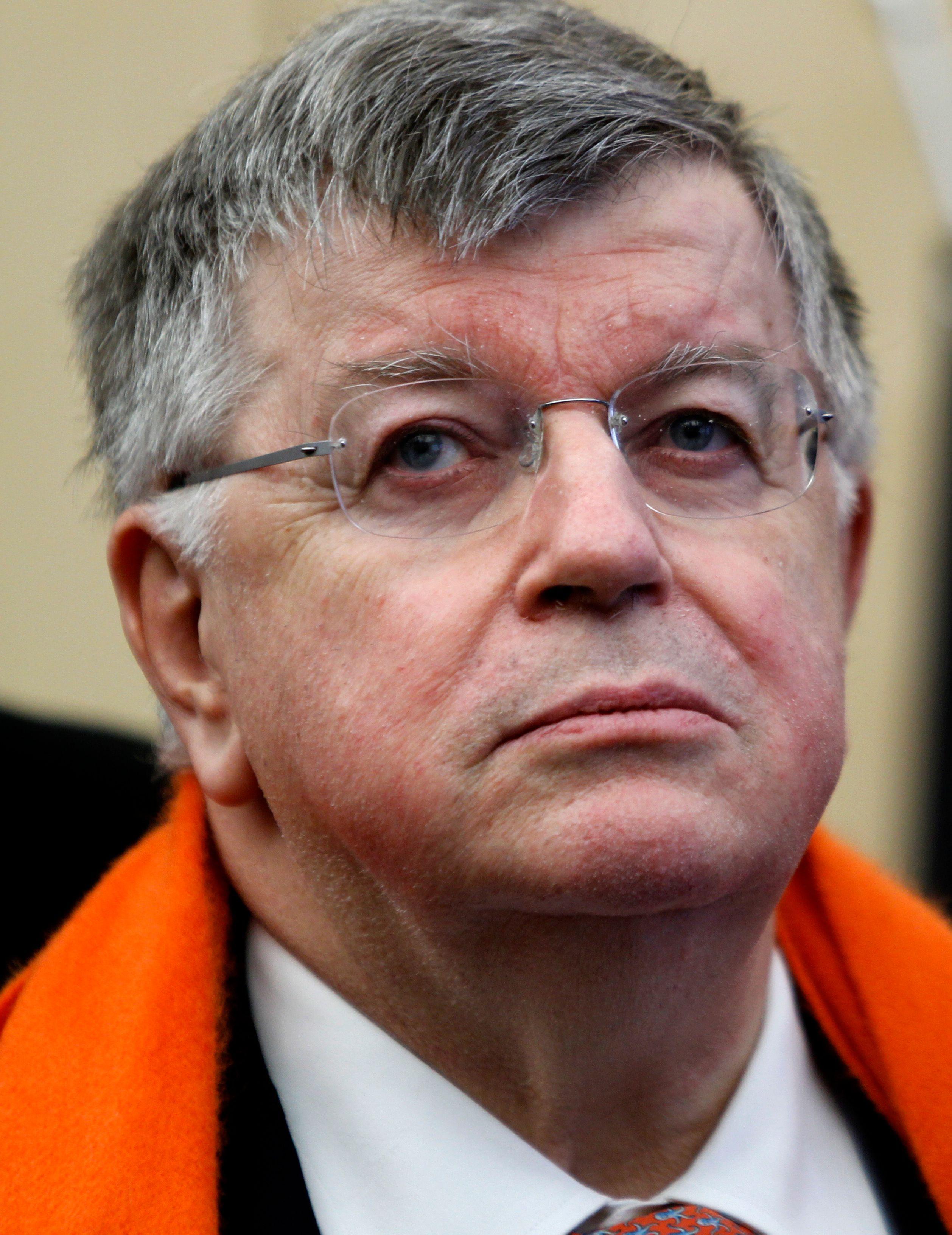 L'ex-PDG de France Telecom, Didier Lombard le 18 Janvier 2010.