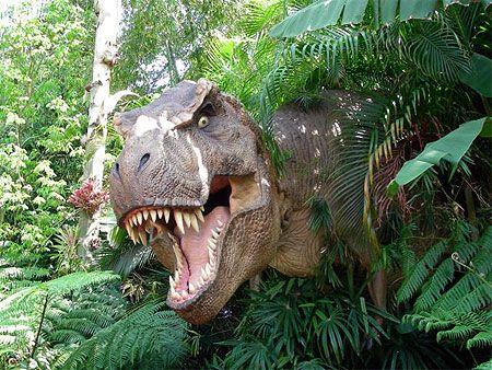 Tyrannosaures, diplodocus et brachiosaures sont à découvrir au Muséum national d'histoire naturelle de Paris jusqu'au 13 mai 2013.