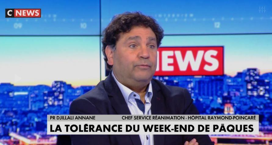 """Tolérance du week-end de Pâques :""""Un contrecoup est à craindre"""", selon le Pr Djillali Annane."""