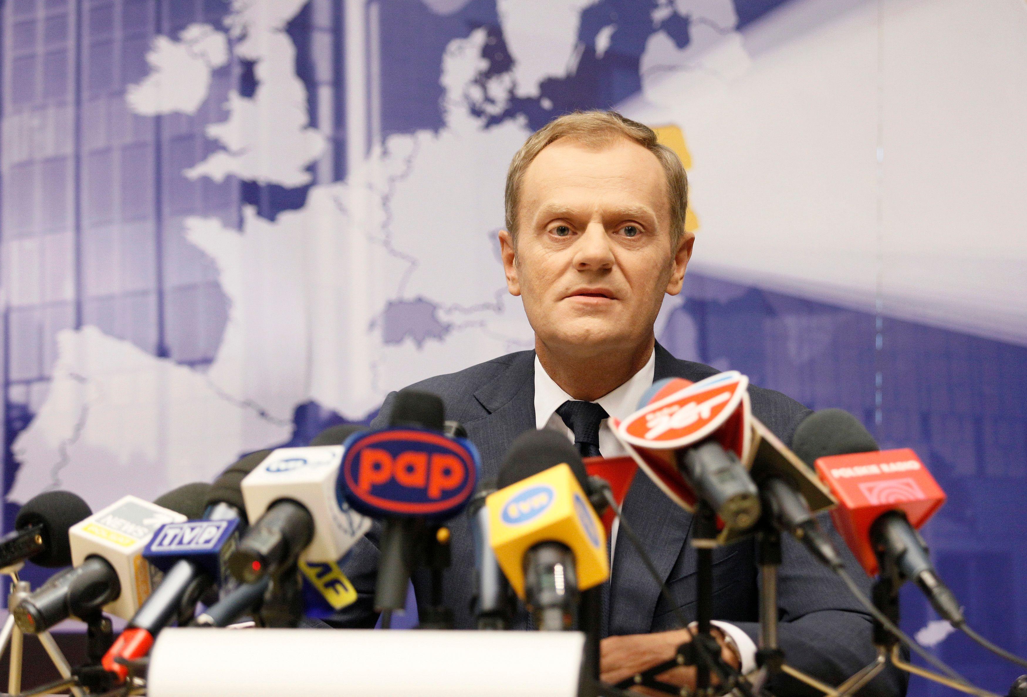 """Donald Tusk a également critiqué les """"décisions unilatérales"""" de certains pays."""