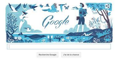 Un Google Doodle à l'honneur de Rachel Louise Carson