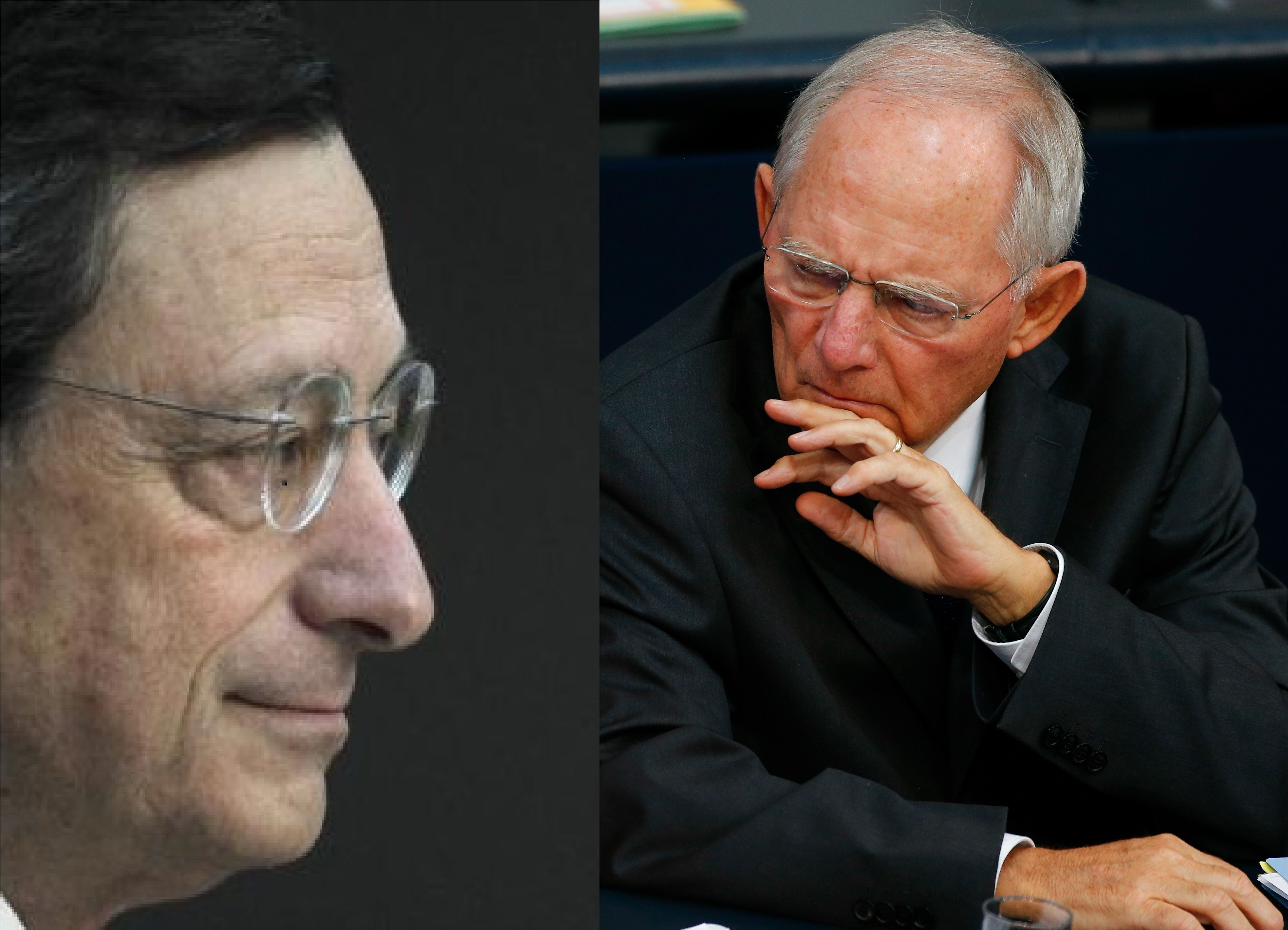 Draghi contre Schäuble : pourquoi le conflit larvé entre l'Allemagne et la BCE (dans l'indifférence française) pourrait venir salir l'épaisse moquette du G20 Finance de Washington