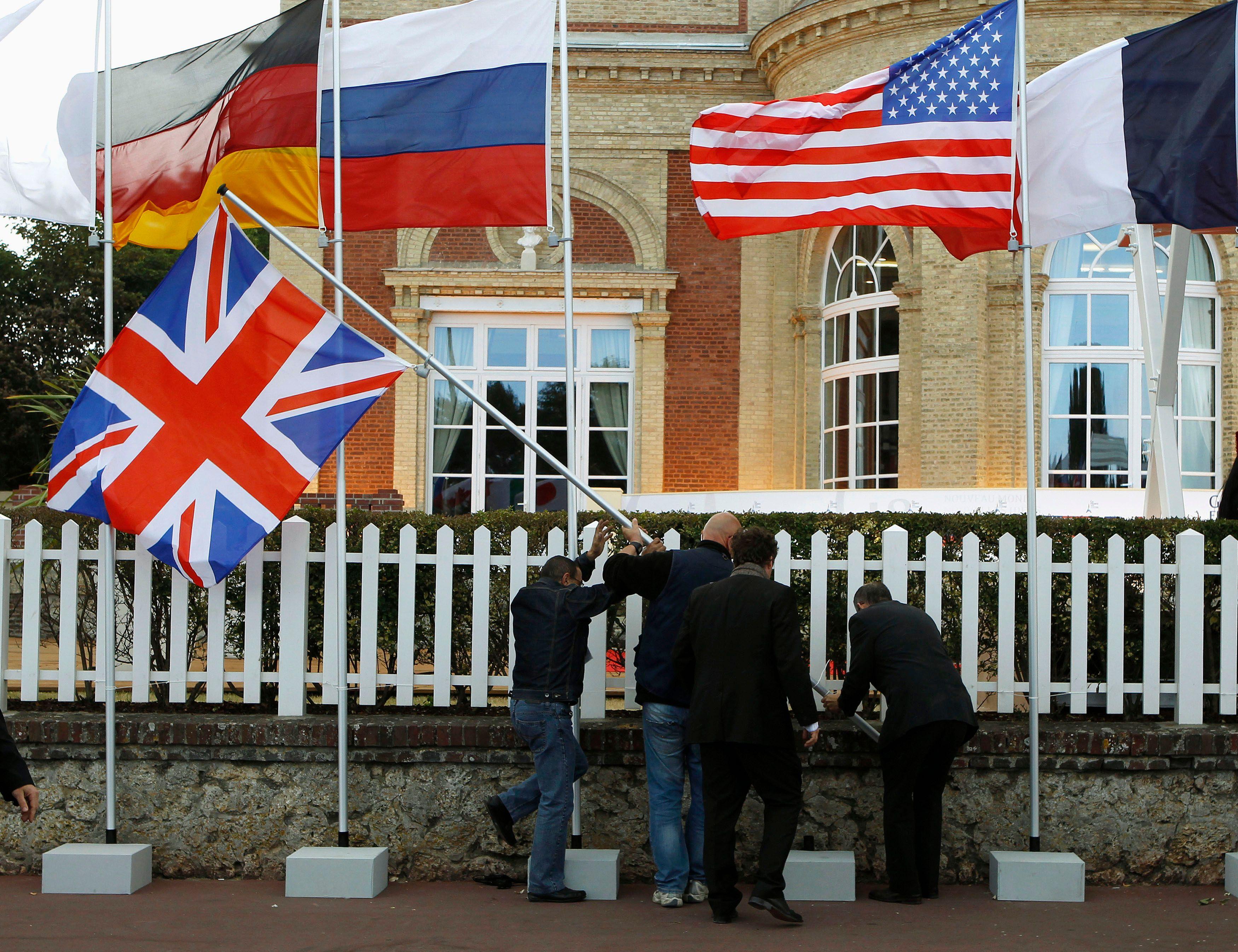 Ce vendredi, débutera le sommet international du G8 pour 2 jours à Camp David près de Washington.
