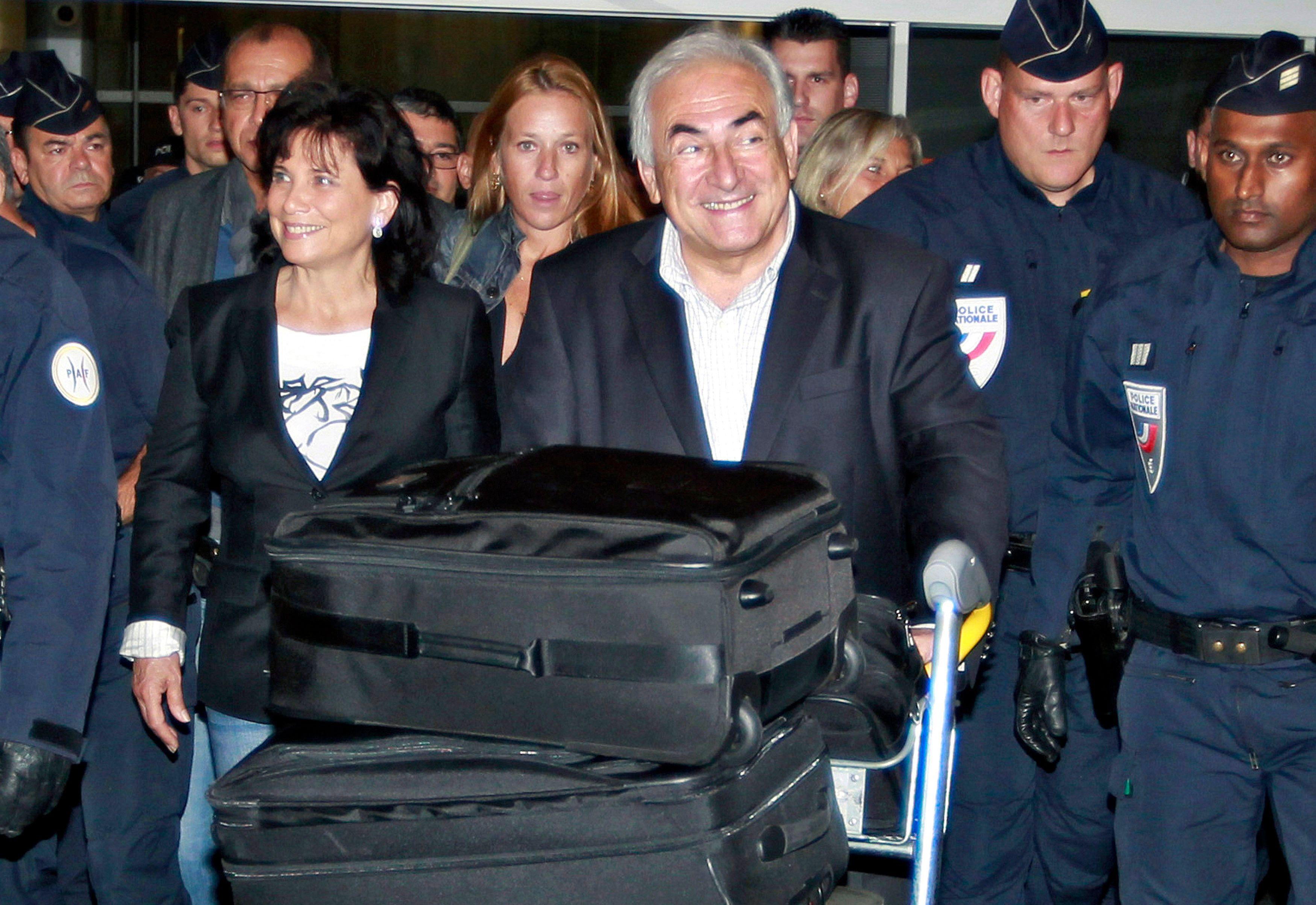 DSK et Anne Sinclair ont fait leur grand retour en France ce dimanche.