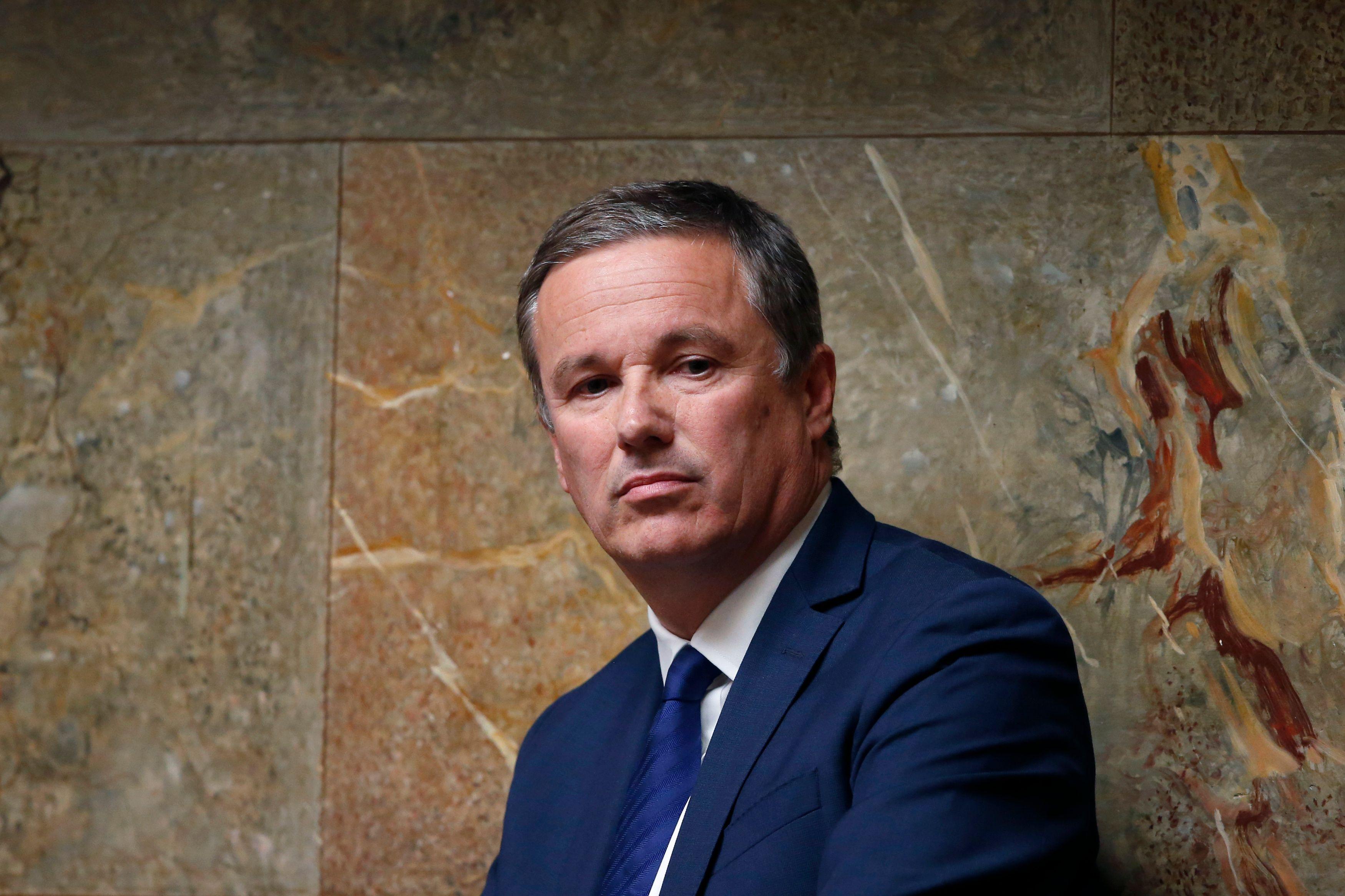 Le fondateur de Debout la France, Nicolas Dupont-Aignan.