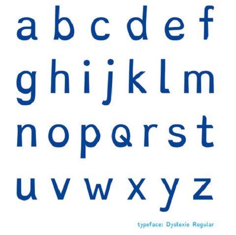 """""""Dyslexie"""" : la nouvelle police de caractères spécialement conçue pour les dyslexiques."""