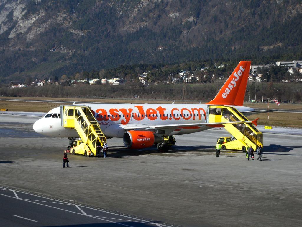 Un avion d'Easyjet a failli entrer en collision avec un parapente (photo d'archive).