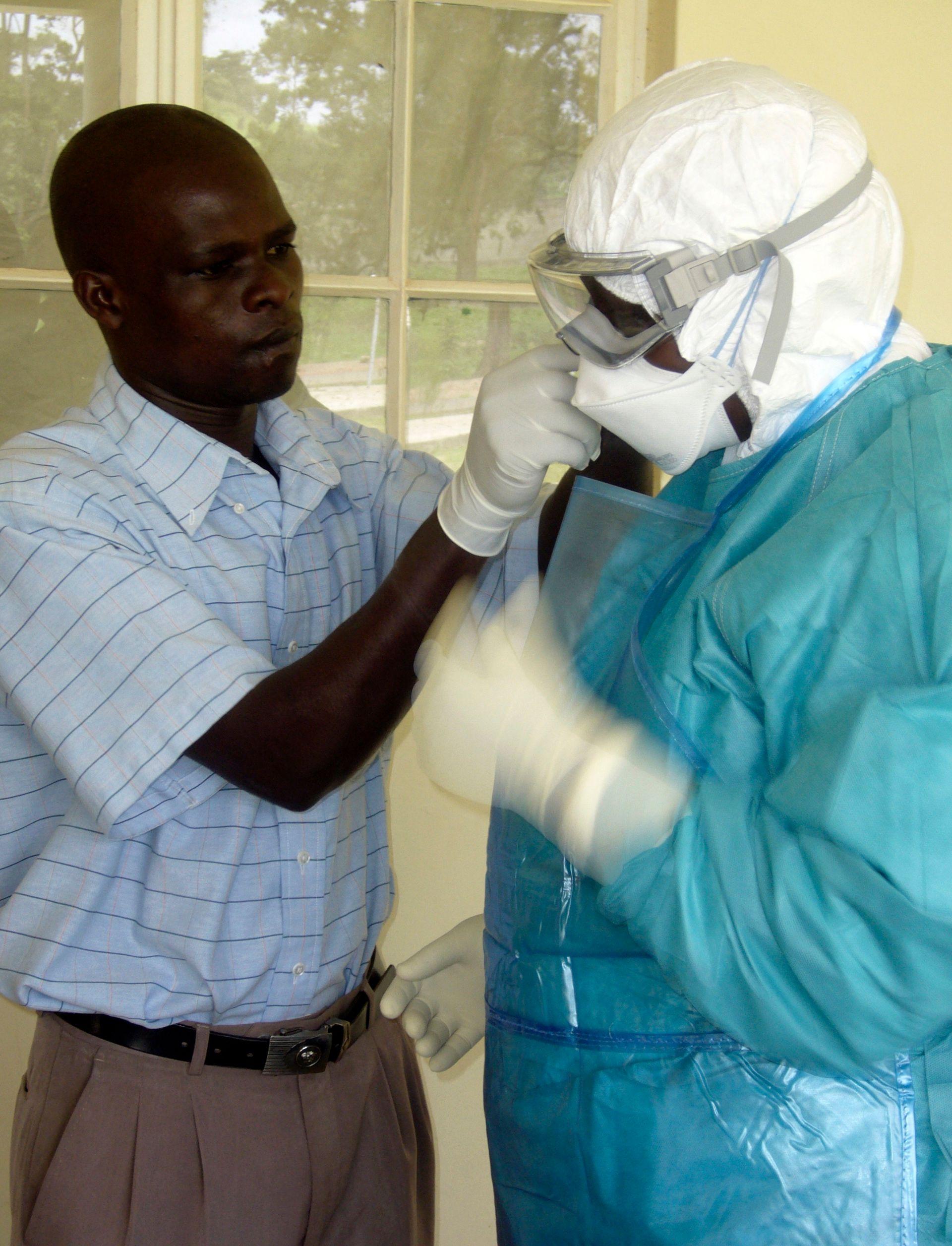 Lutte contre Ebola en Guinée