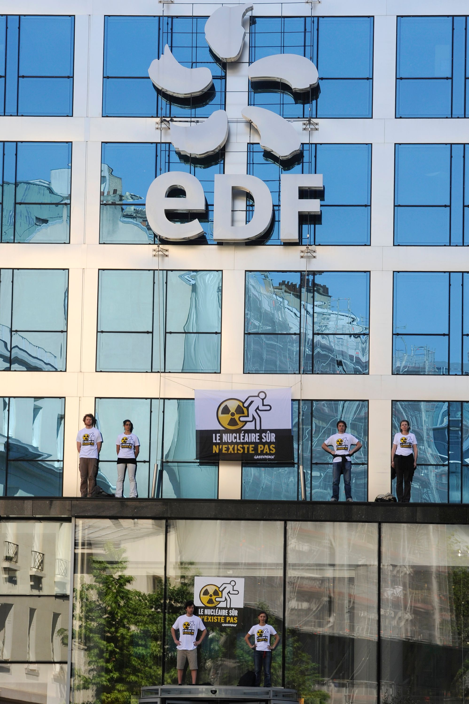 Logo de l'entreprise EDF.
