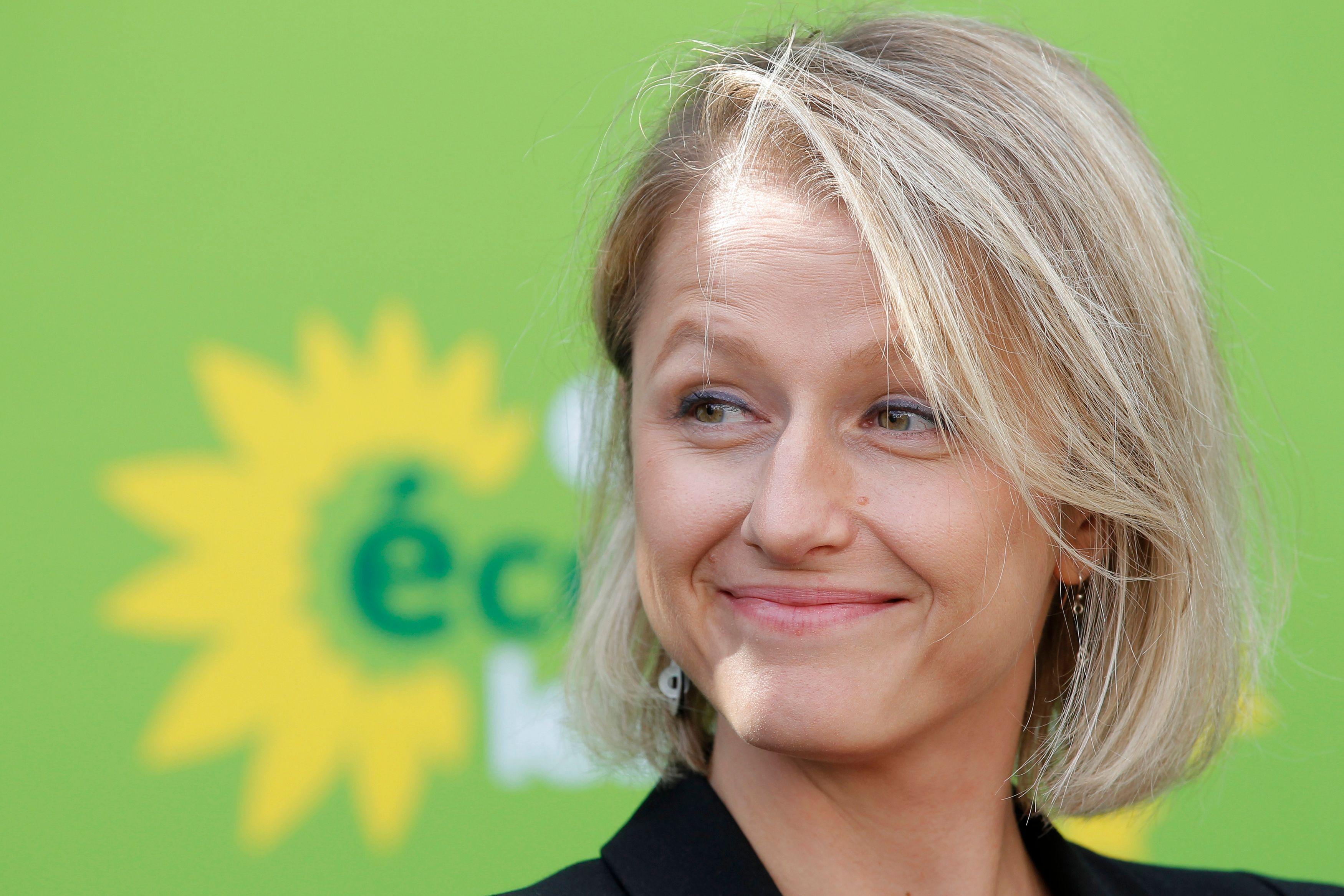 Barbara Pompili, présidente du groupe EELV de l'Assemblée nationale.