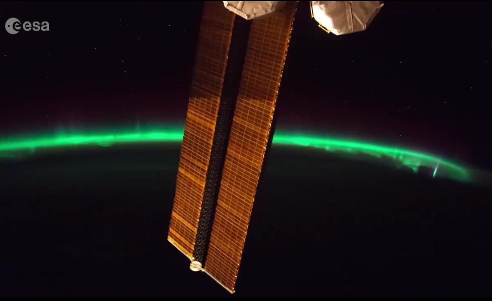 A couper le souffle : Thomas Pesquet filme une splendide aurore boréale en timelapse
