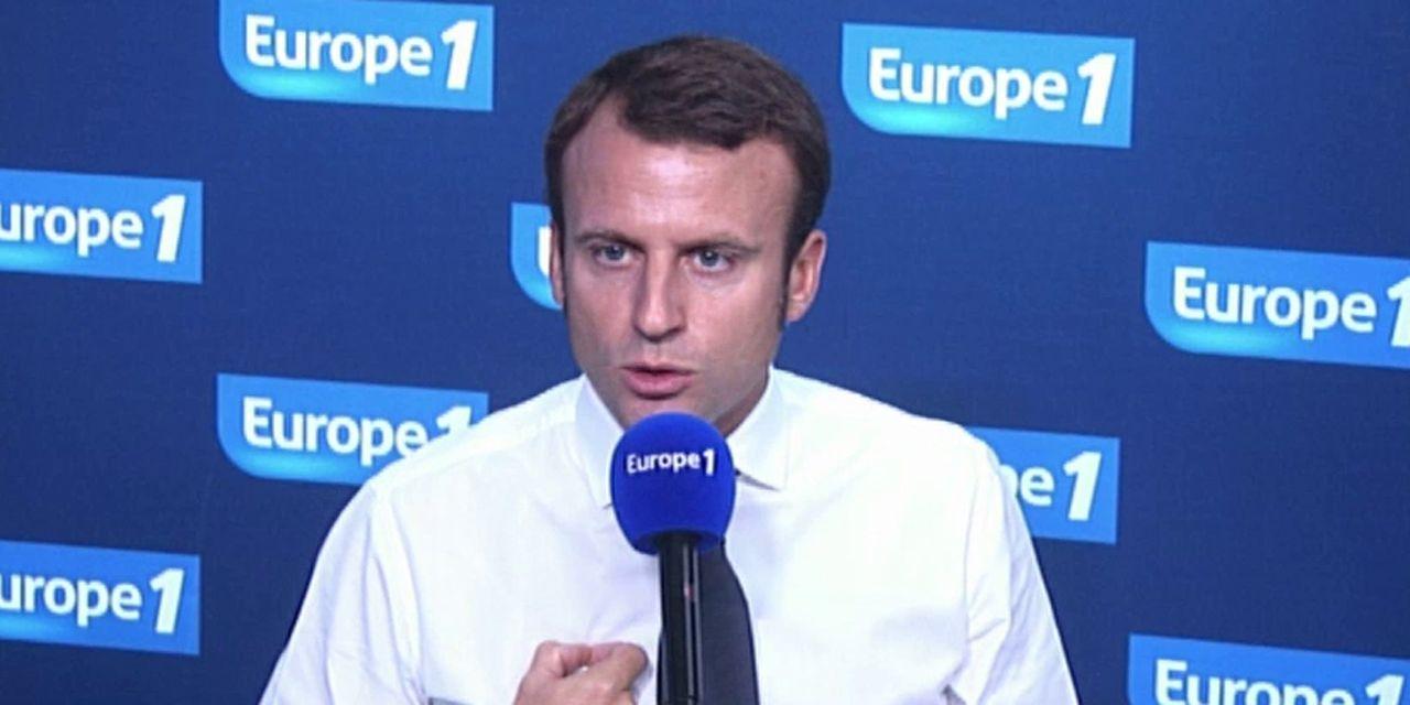 """Emmanuel Macron : """"Il faut que les élus puissent ouvrir jusqu'à 12 dimanche"""""""