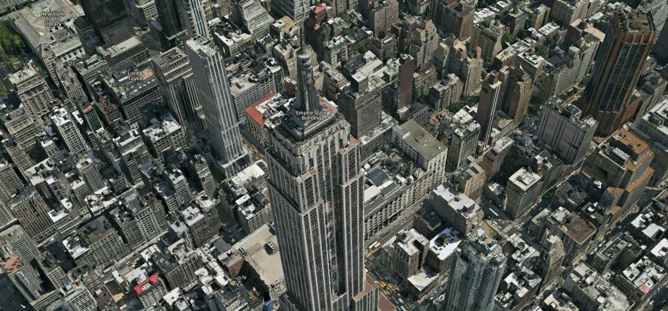 Les plus grandes villes en 3 D