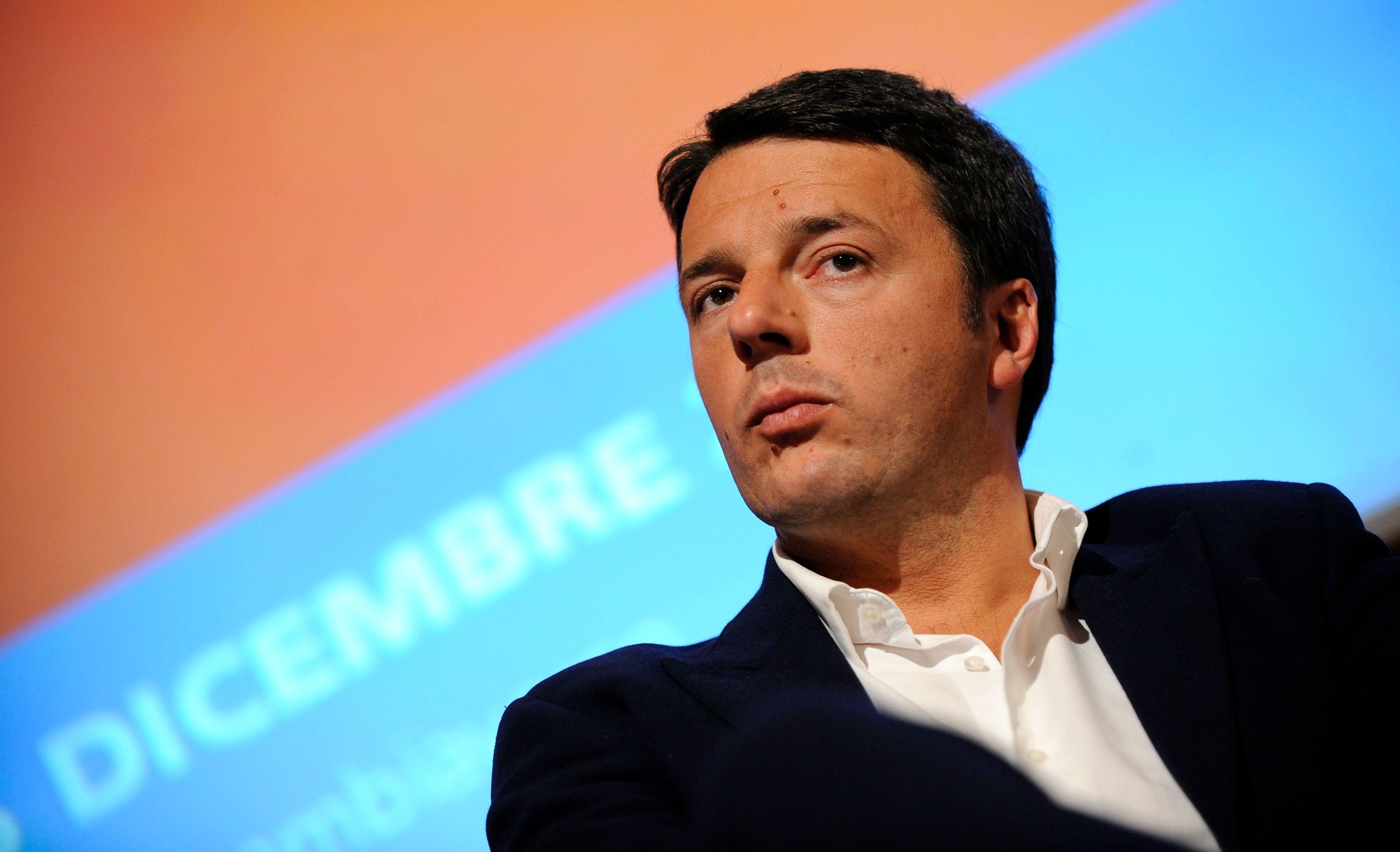 Matteo Renzi, leader du Parti démocrate italien.