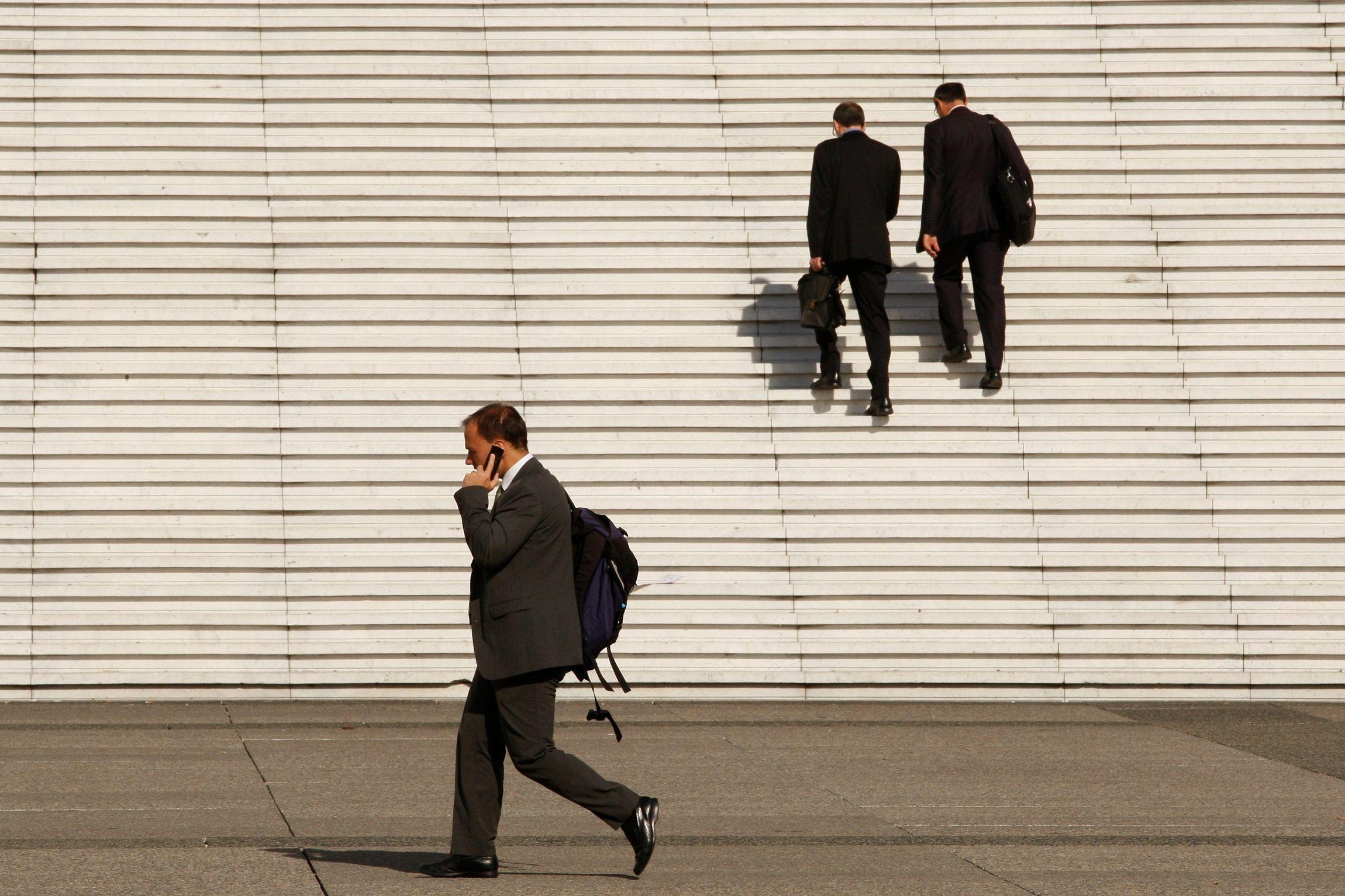 Sur les douze derniers mois, le nombre de créations d'entreprises a baissé de 3,2%.