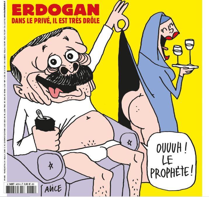 caricature Charlie Recep Tayyip Erdogan Turquie