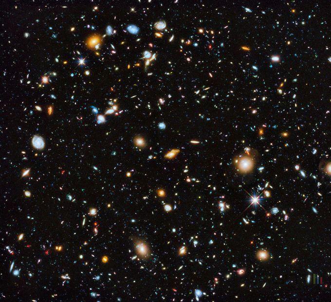 L'Univers est composé de 10 fois plus de galaxies que ce que l'on pensait