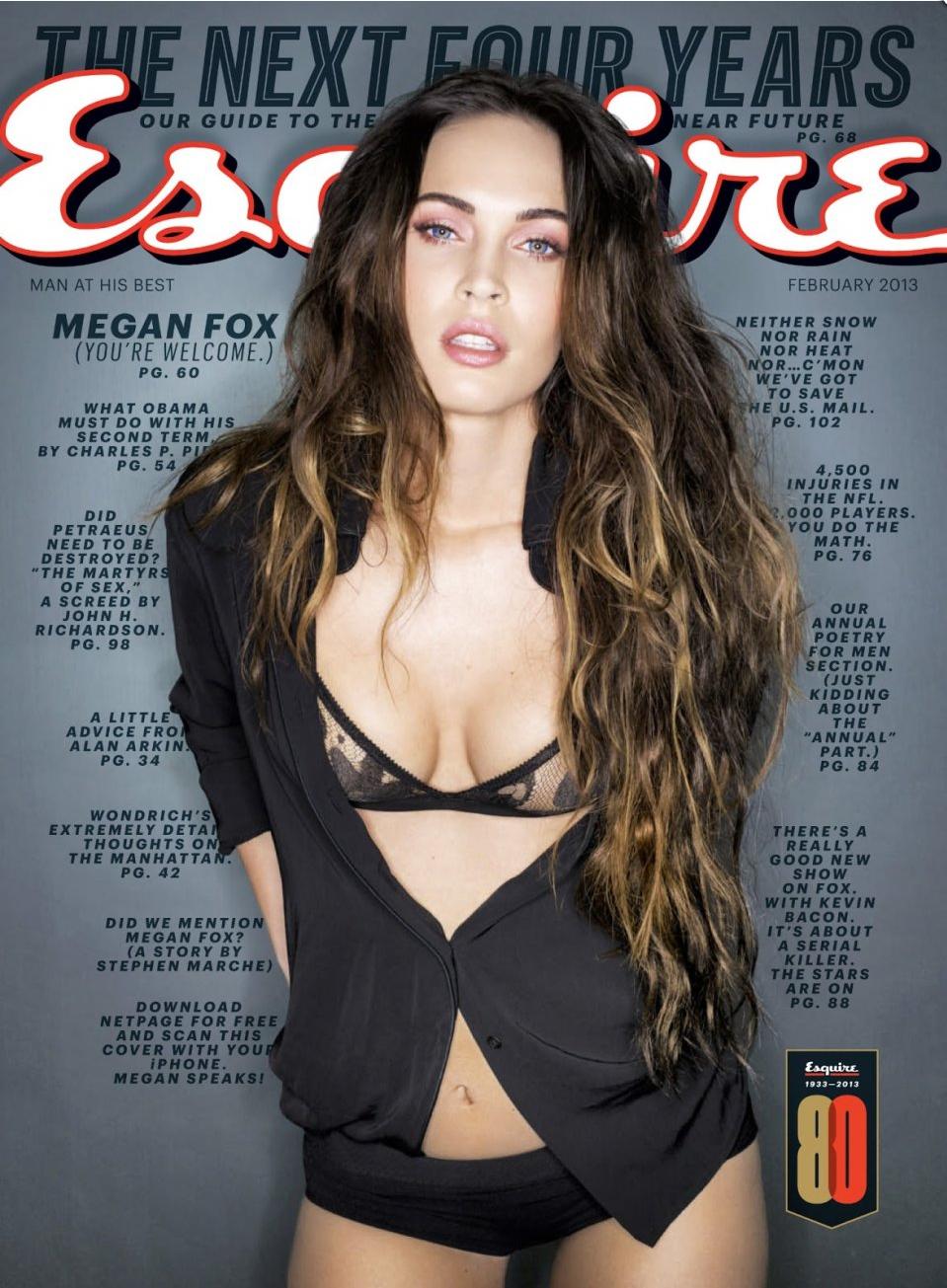 Megan Fox est-elle folle ? La très bizarre interview de la bombe de Transformers dans Esquire