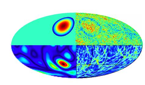 Vue du cosmo illustrant l'inflation éternelle
