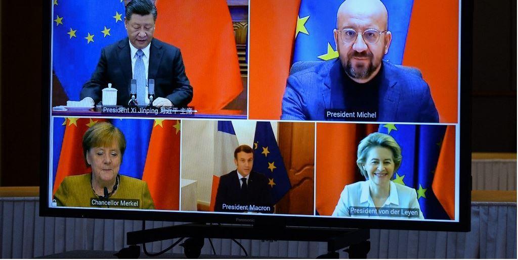 Europe Chine dirigeants équilibre excédent commercial dépendance international Chine Etats-Unis
