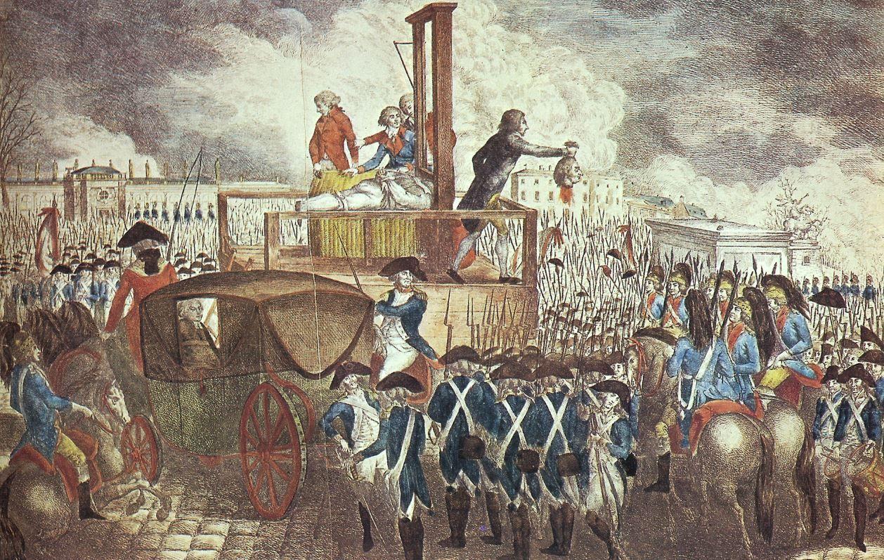 Comment la mise à mort de Louis XVI  a participé à la mort (philosophique) de Dieu
