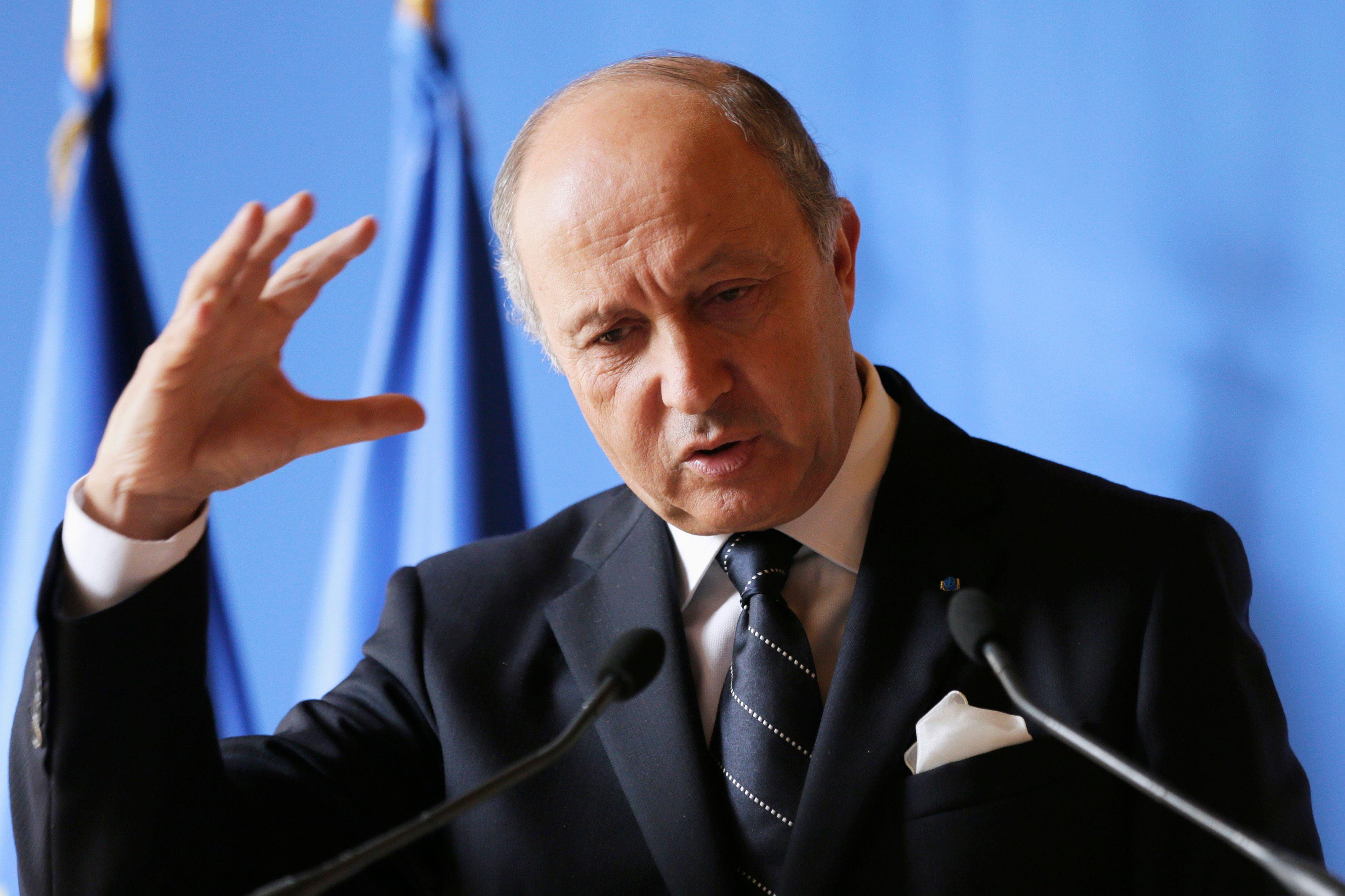 Laurent Fabius s'est déplacé à Bagdad afin de faire part du soutien de la France