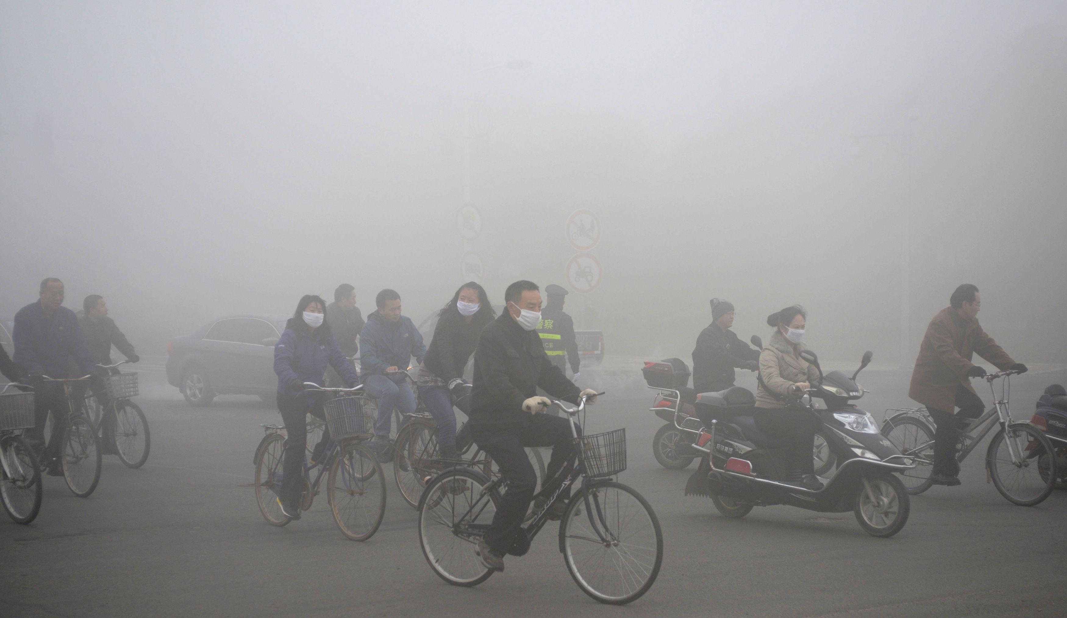 Pollution massive : la Chine en pleine révolution verte