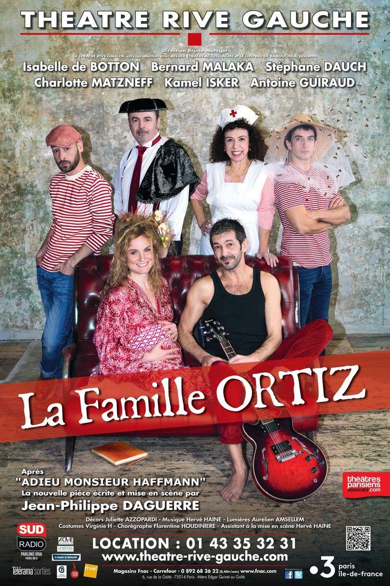 """""""La famille Ortiz"""" de jean-Philippe Daguerre : ce n'est pas un beau roman, mais c'est une belle histoire !"""