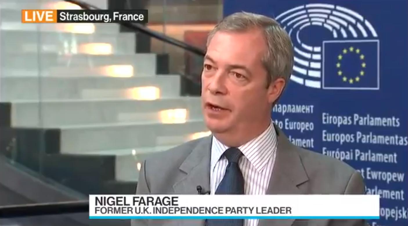 Brexit : pour Nigel Farage, le Royaume-Uni va activer l'article 50 en janvier 2017