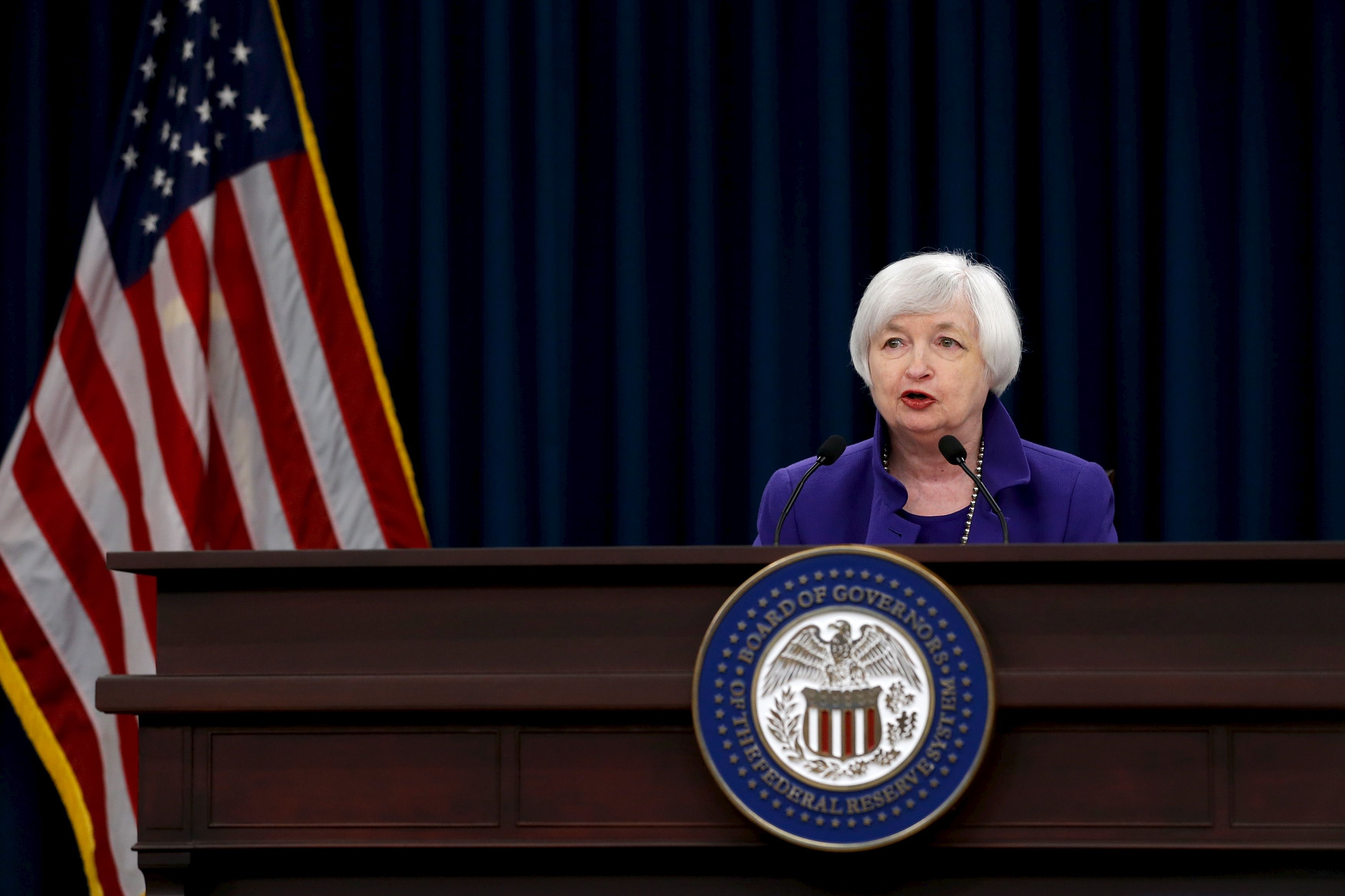 La Fed laisse ses taux directeurs inchangés