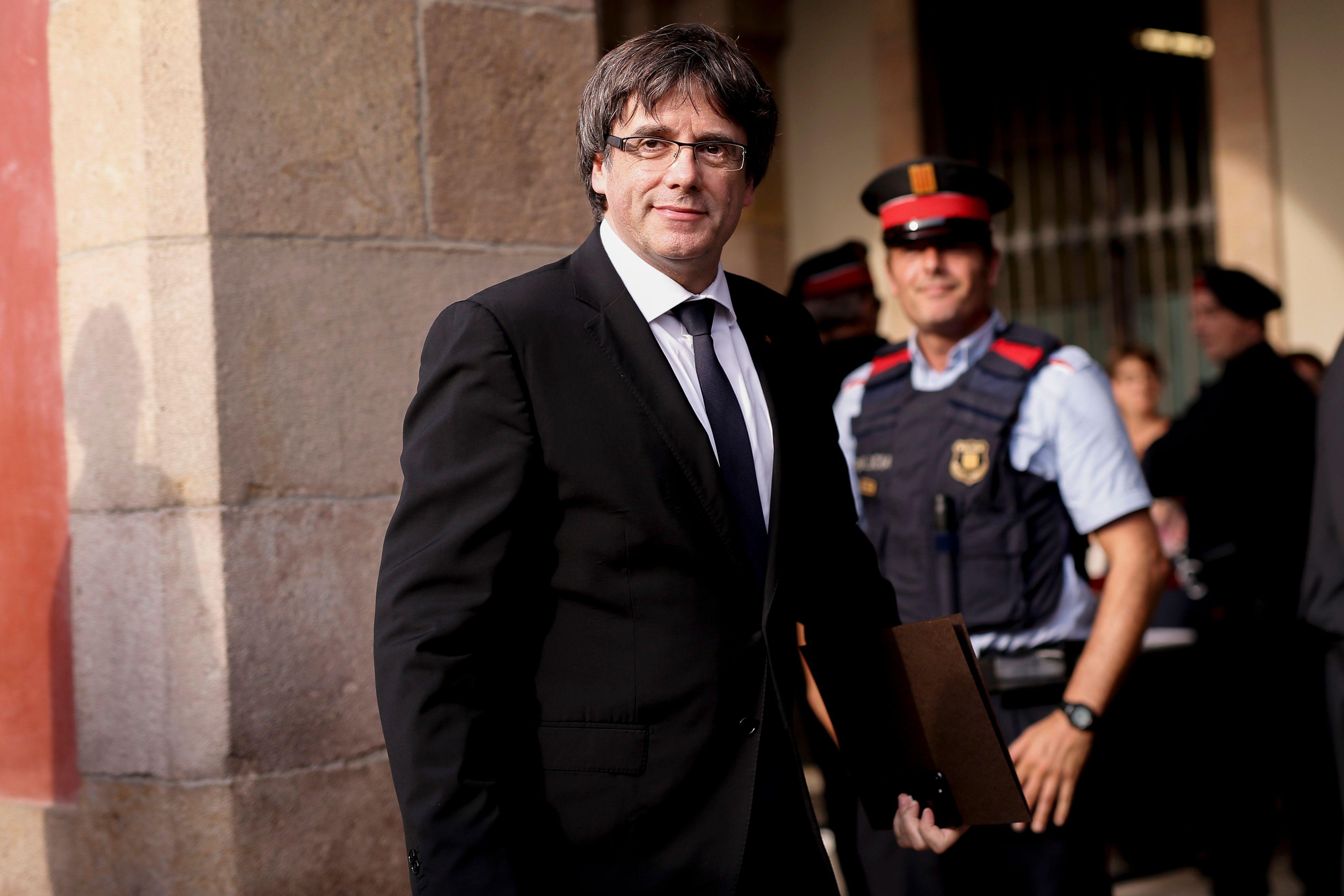 Carles Puigdemont est libéré sous caution